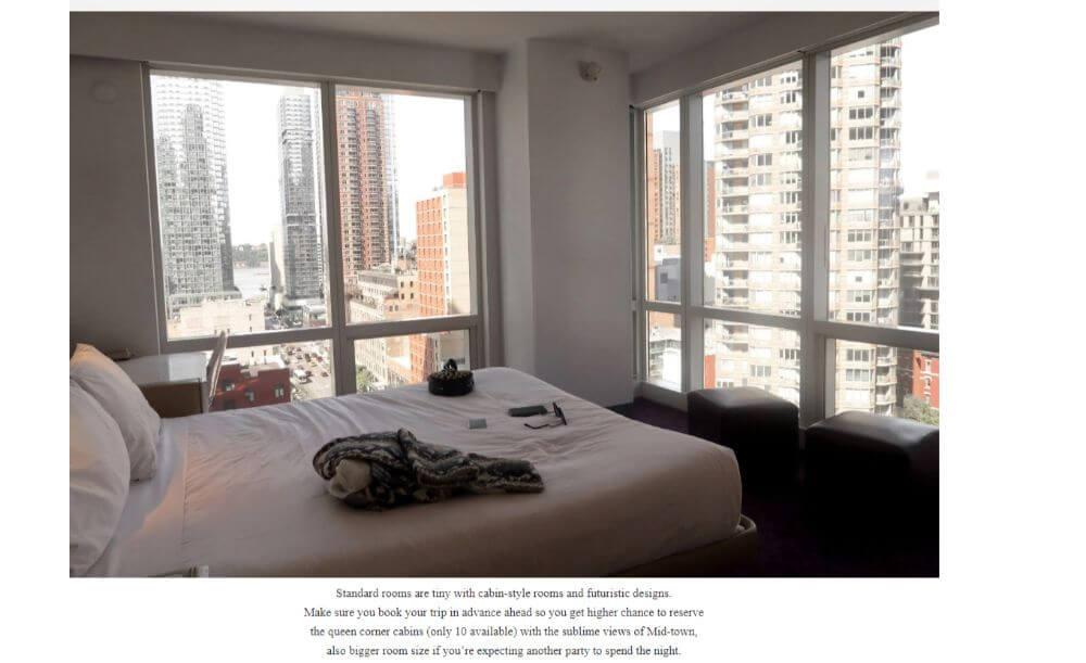Sponsored hotel stay for Attire Studios travel and fashion blogger