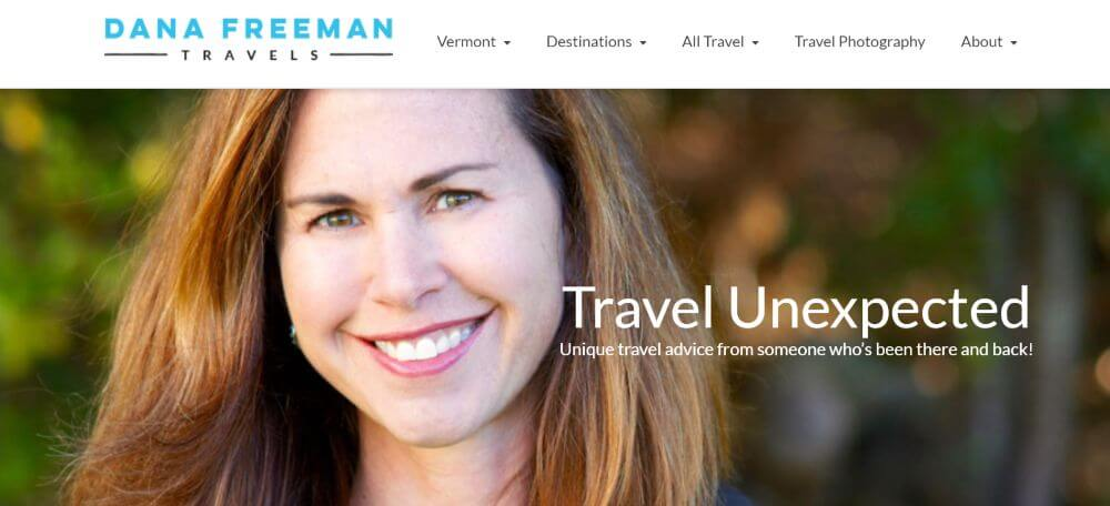 Dana Freeman Travels Blog Homepage