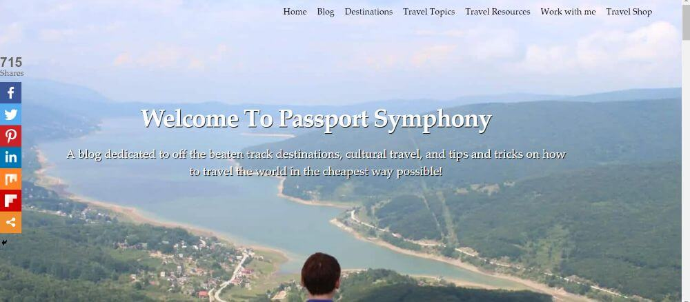 Passport symphony view homepage