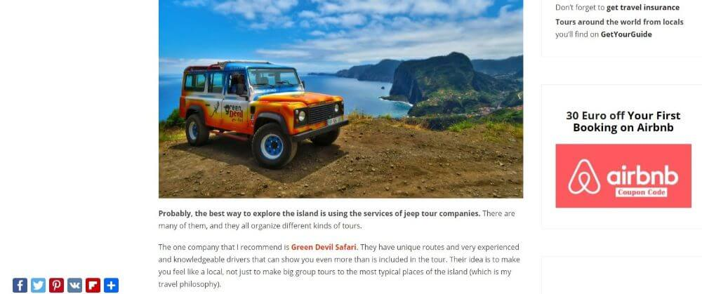 RomanRoams Travel blog collaboration with a jeep tour company