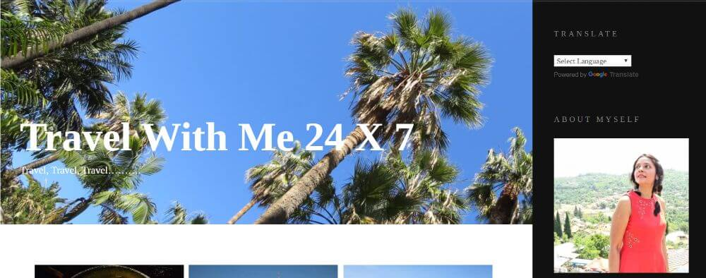 travel with me 24/7 travel blog homepage